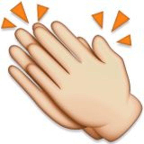 Image result for clap emoji
