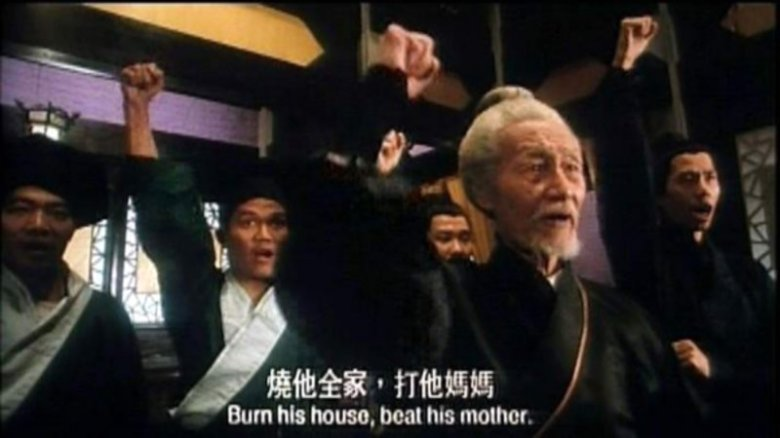 Image result for beat his mother burn his house