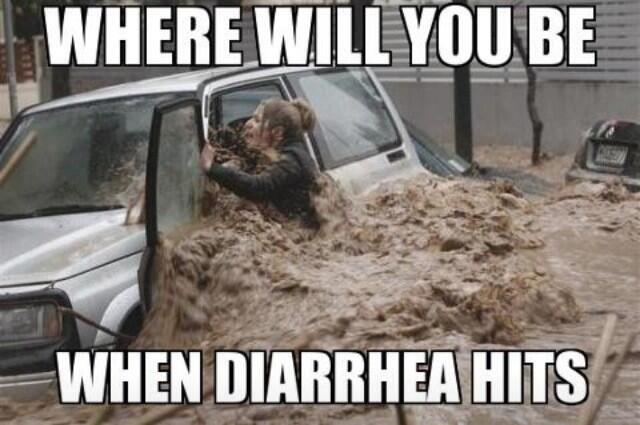 how to cure diarrhea fast