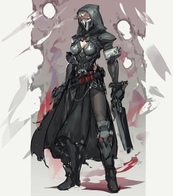 Female Reaper By Overwatch Know Your Meme