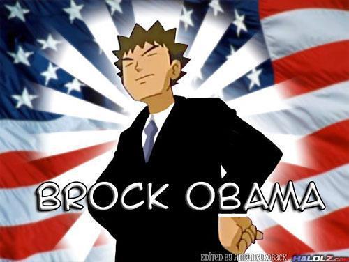 Brock Obama meme