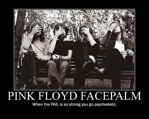 Pink Floyd Facepalm