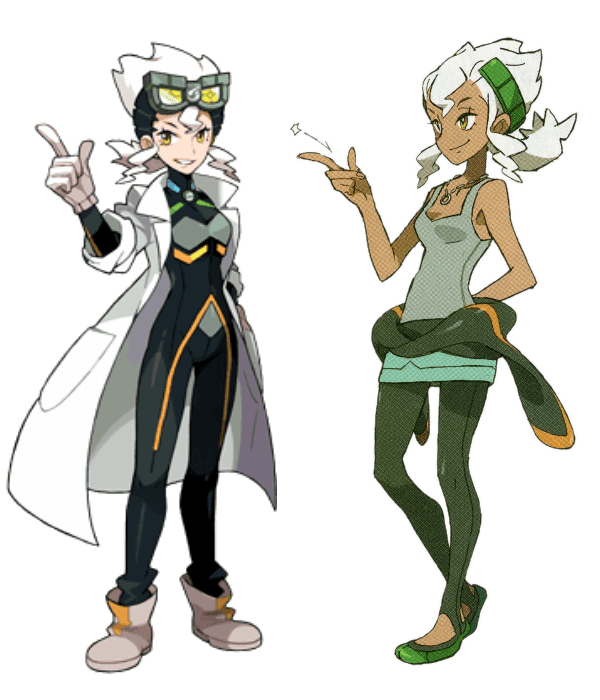Professor Burnet Before And After Pokmon Sun And Moon
