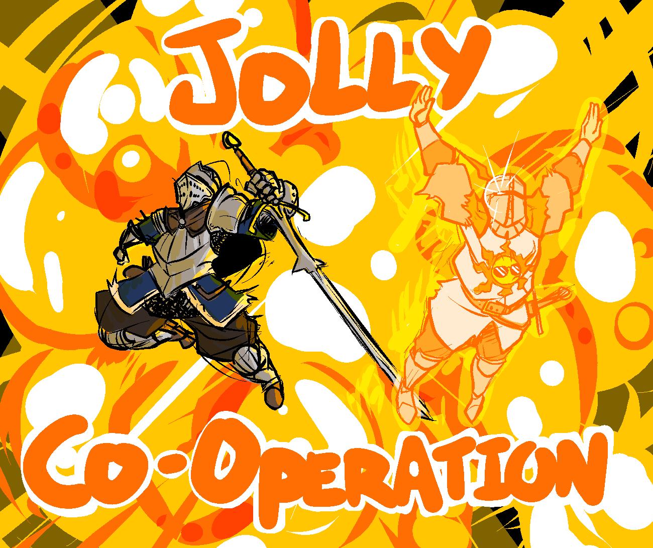 Image result for dark souls jolly cooperation