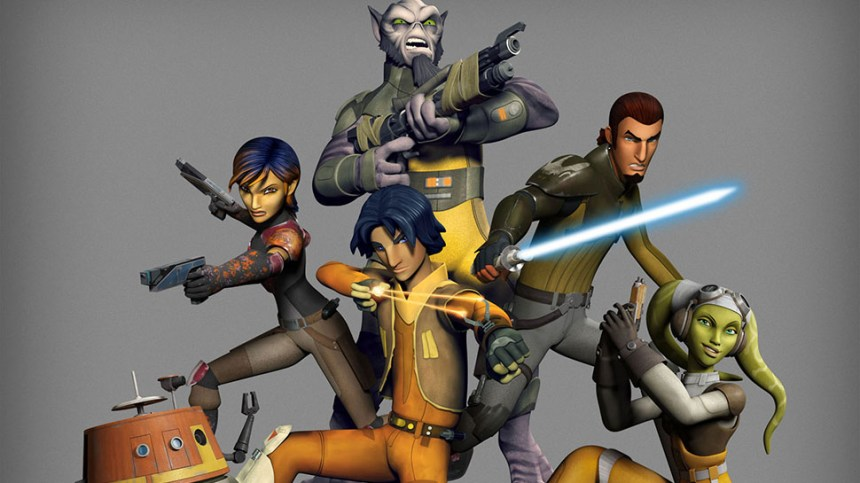 Image result for star wars rebels characters