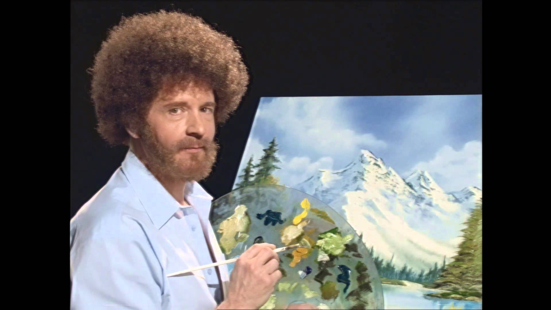 Bob Ross Painting Bob Ross Know Your Meme