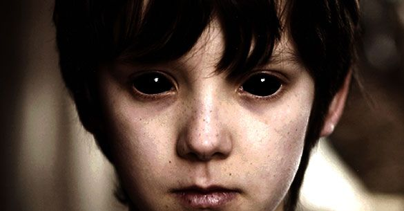 Image result for black eyed children