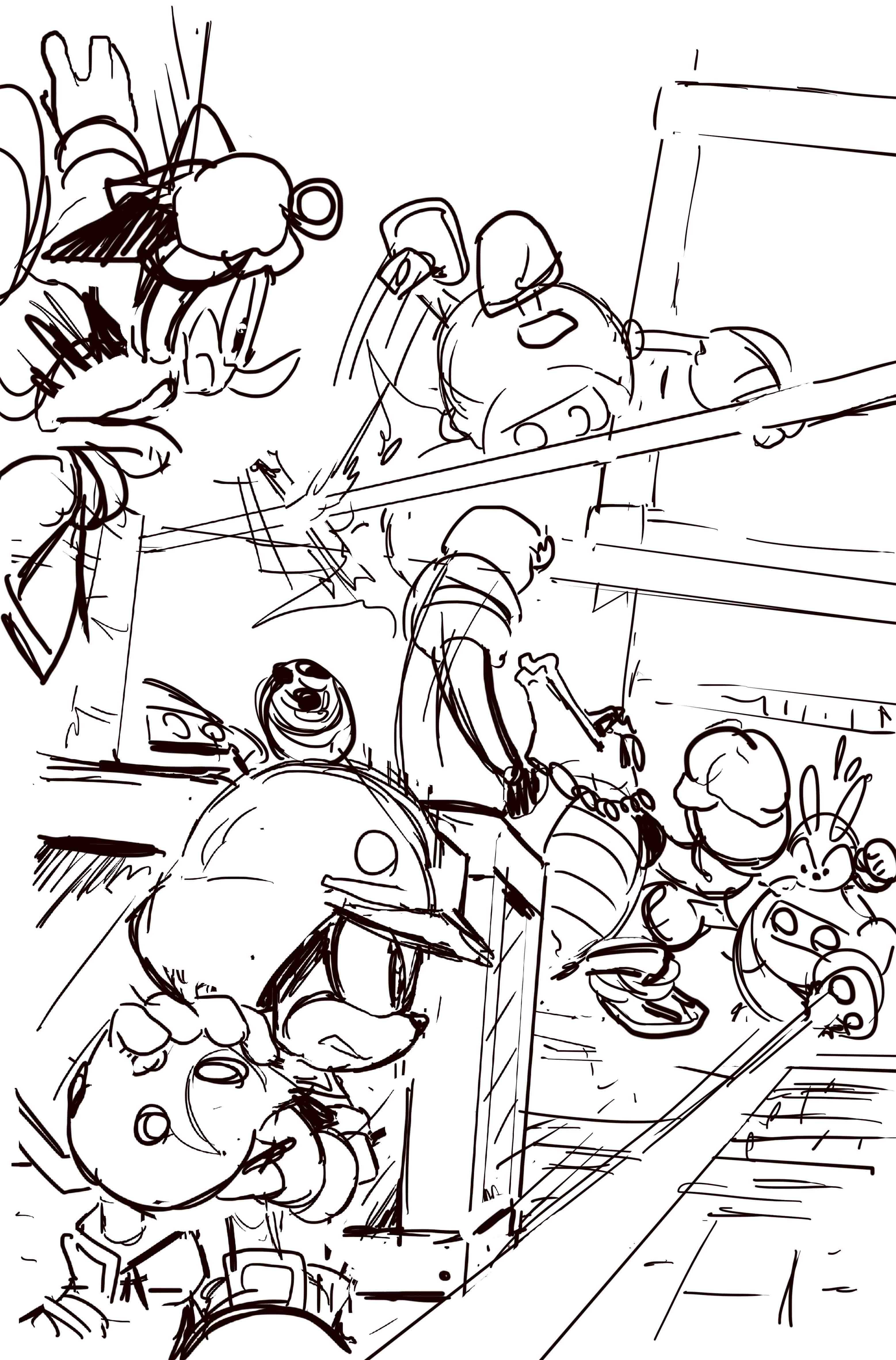 Sonic Forces Moment Of Truth Possible Concept Sketch