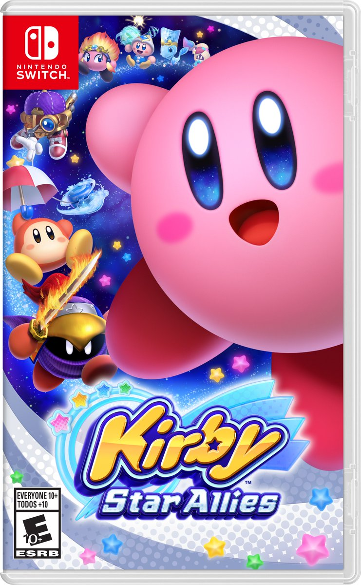 Image result for kirby star allies box art