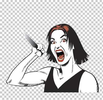 Crazy Woman cut out PNG cliparts free download | PNGOcean
