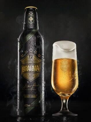 Cerveja-Brahma- edição -especial- com -cevada-da -Granja- Comary- FuteRock