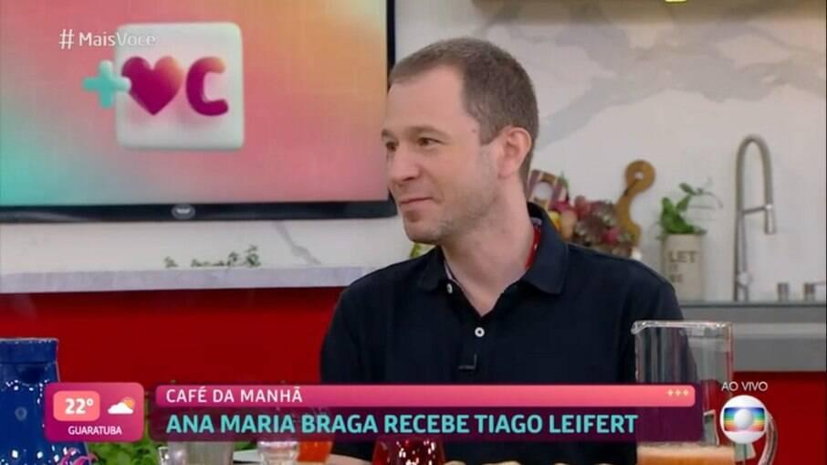 Tiago Leifert participa do