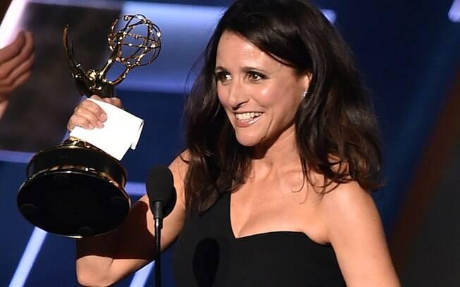 Julia Louis-Dreyfus foi eleita melhor atriz em série de comédia por