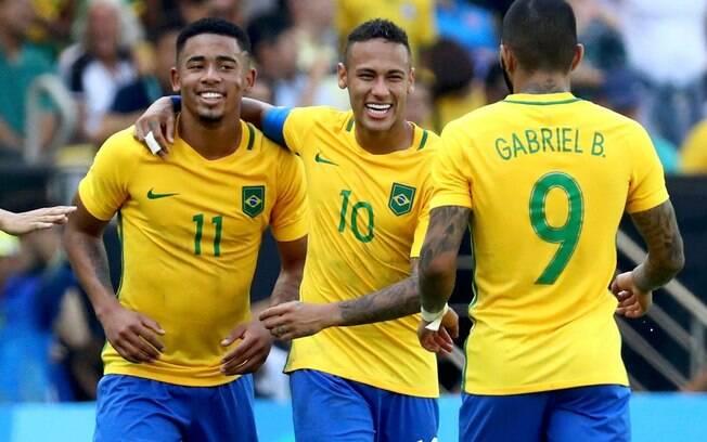 Gabriel Jesus, Neymar e Gabigol vão disputar a medalha de ouro olímpica