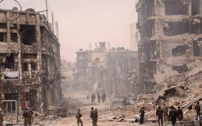 Síria está imersa em uma guerra civil desde 2011, quando protestos contra Bashar al-Assad ganharam força