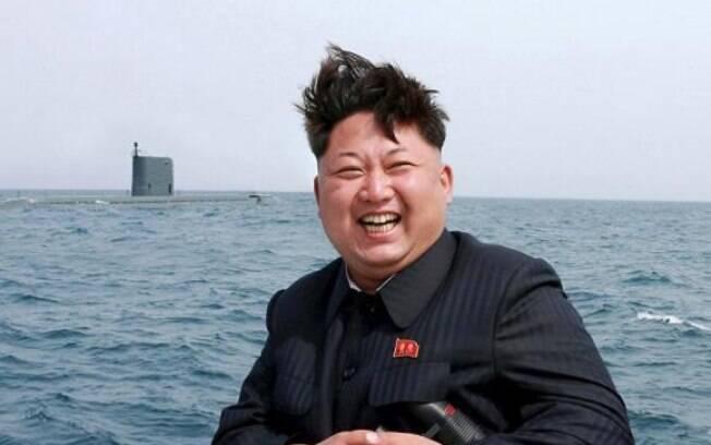 Kim Jong-un, líder norte-coreano, estaria sendo vítima de um complô dos EUA com a Coreia do Sul