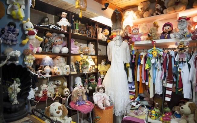 Bazar do Lar de Frei Luiz. Foto: Selmy Yassuda