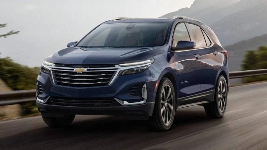 Chevrolet Equinox 2022 chega em breve ao Brasil com visual renovado e multimídia com internet a bordo