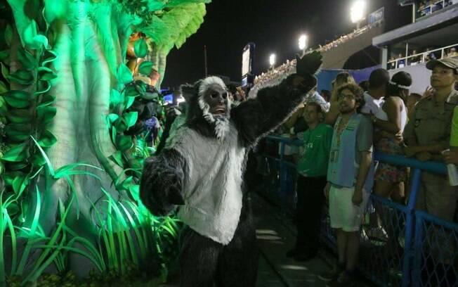 Desfile da Beija-Flor. Foto: André Freitas/AgNews