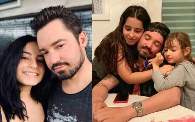 Fernando Zor com as filhas%2C Alice%2C de 6 anos%2C e Kamily%2C de 18 anos