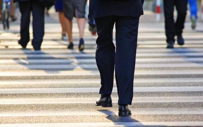 Dificuldade para caminhar. Foto: Getty Images