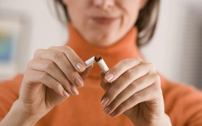 Abandone o cigarro hoje