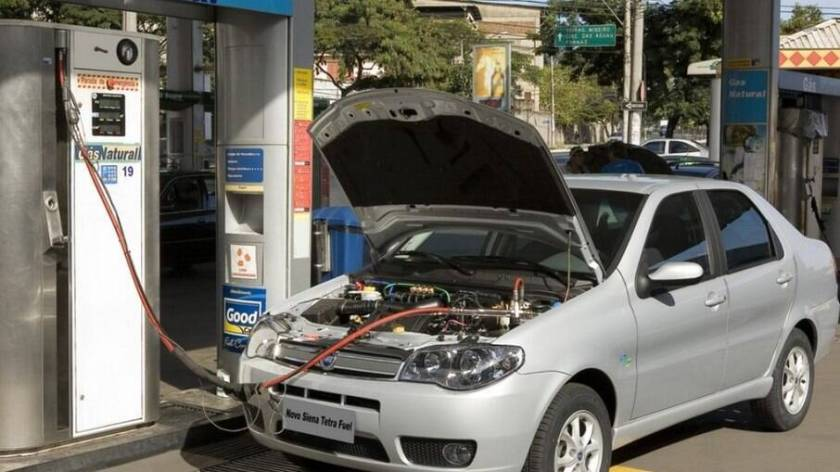 Cars with CNG can be up to 50% more economical than flex or gasoline-powered models