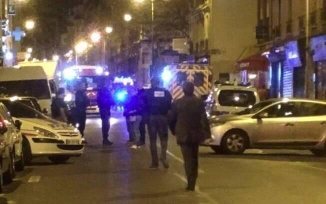 Militares, bombeiros e ambulâncias foram espalhados pelas ruas para socorreram as vítimas