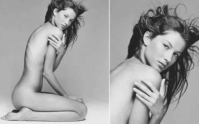Aos 19 anos, Gisele aparecia deslumbrante assim num click do fotógrafo Patrick Demarchelier. Foto: Reprodução