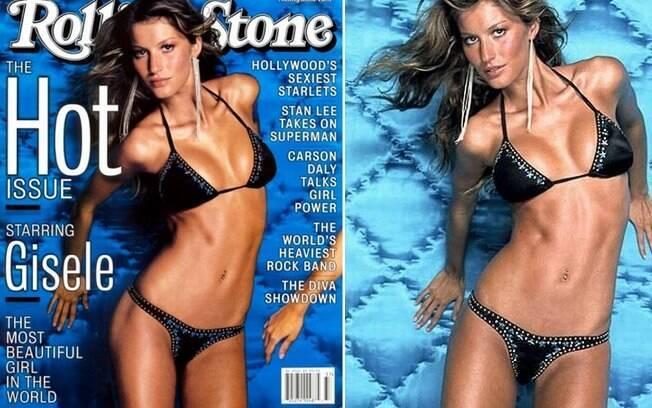 Em 2000, Gisele foi eleita pela Rolling Stone americana como a garota mais bonita do mundo. Título que ela merece até hoje . Foto: Reprodução