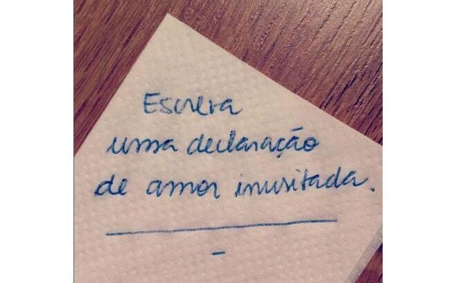 Retome hábitos antigos, como escrever à mão. É a ideia do tumblr MinhaLetra. Foto: Reprodução