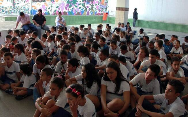 O Programa Criança Petrobras na Maré foi um dos afetados pelo corte de recursos da Petrobras