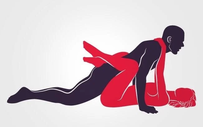 POUSO CLÁSSICO: Em posição de flexão de braço, ele penetra a parceira, que se enrosca nele elegantemente. Foto: Renato Munhoz (Arte iG)