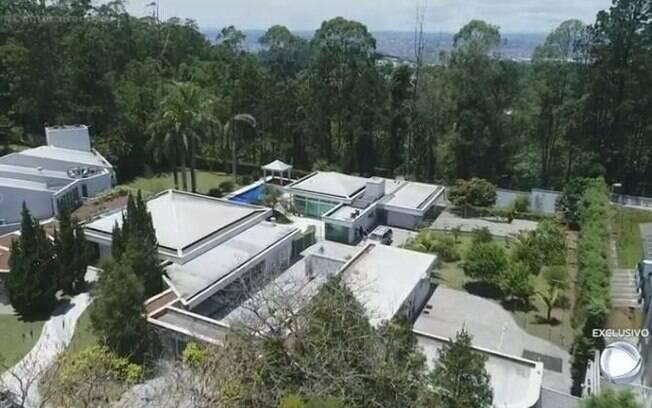 Casa de Gugu . Foto: Reprodução Record