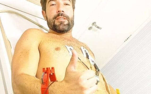 Sandro Pedroso vai parar no hospital