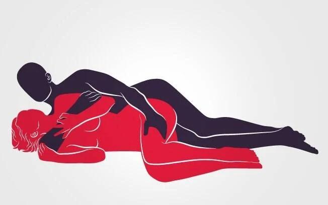 DE LADINHO: De lado, ele abraça a parceira carinhosamente e penetra por trás. Foto: Renato Munhoz (Arte iG)