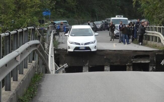 Incidente ocorreu no trecho entre os municípios de Cesana Brianza e Annone di Brianza