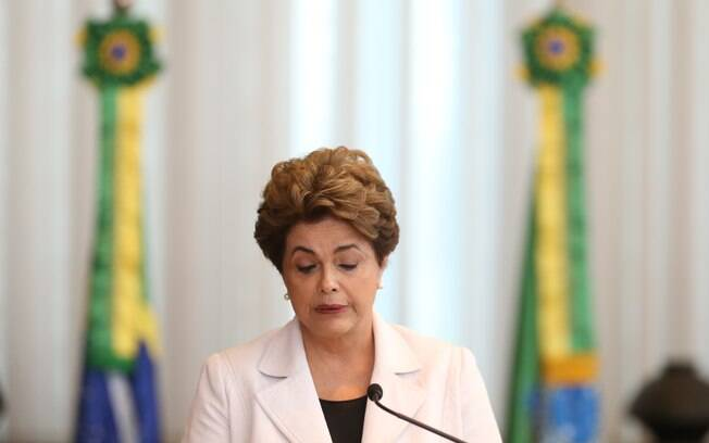 Presidenta afastada convocou uma coletiva de imprensa no Palácio da Alvorada para explicar os argumentos da carta