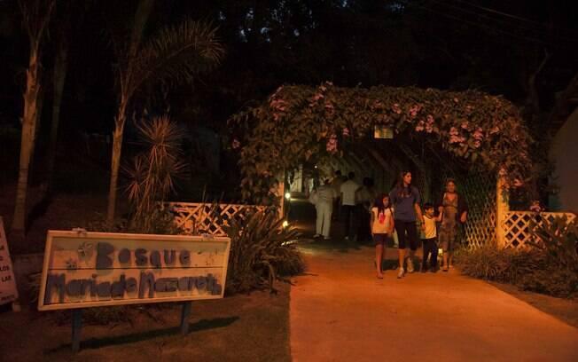 Bosque do Lar de Frei Luiz. Foto: Selmy Yassuda
