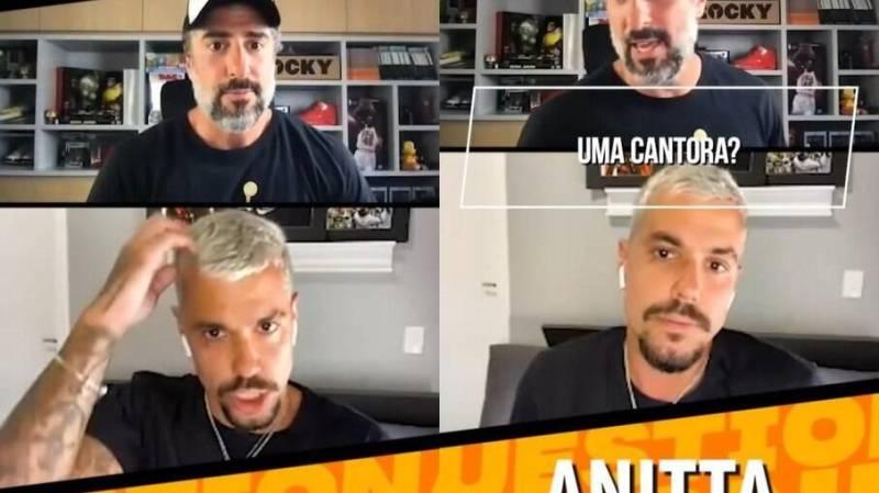 Lipe Ribeiro fala sobre relação com Anitta em entrevista ao Marcos Mion