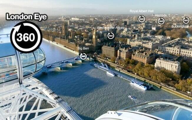 Visitar Londres agora ficou mais fácil e sem sair de casa.