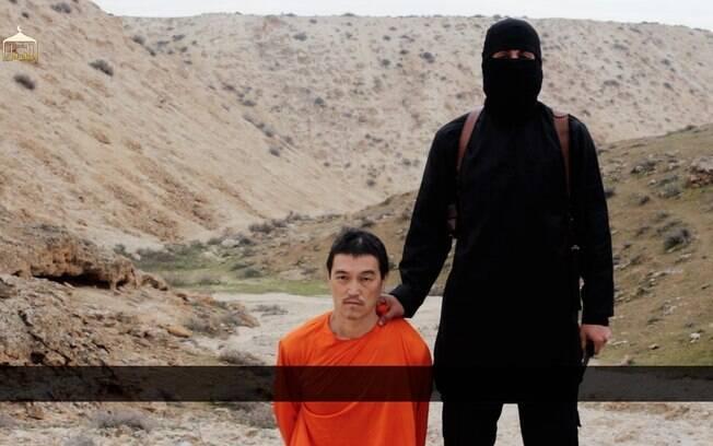 O jornalista japonês Kenji Goto foi morto pelos extremistas do Estado Islâmico no dia 30 de janeiro. Ele havia viajado para a Síria visando libertar o refém Yukawa. Foto: AP
