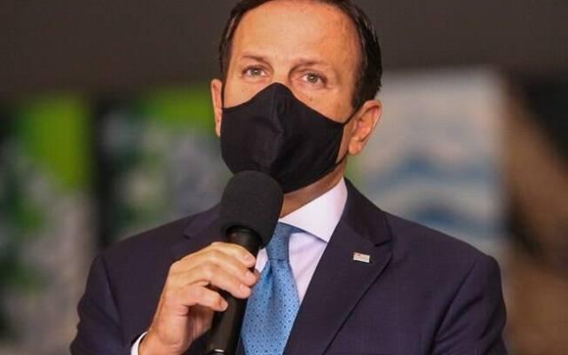 Governador de São Paulo João Doria