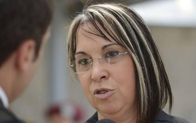 A secretária nacional de segurança, Regina Miki: