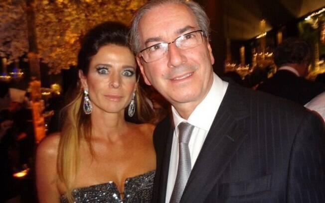 Claudia Cruz e Eduardo Cunha