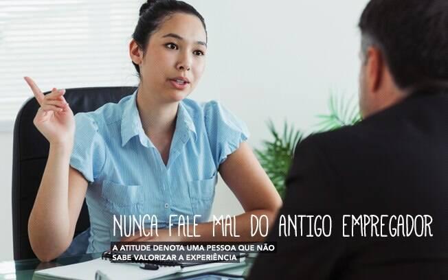 Evite os erros mais comuns dos candidatos em entrevistas de emprego. Foto: Arte iG sobre Getty Images