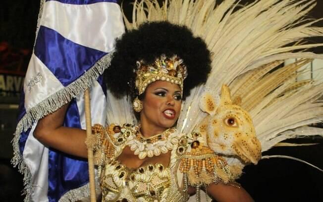 Desfile da Beija-Flor. Foto: Fábio Moreno/AgNews