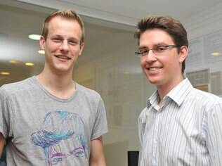 Florian Hagenbuch e Mate Pencz, da Printi