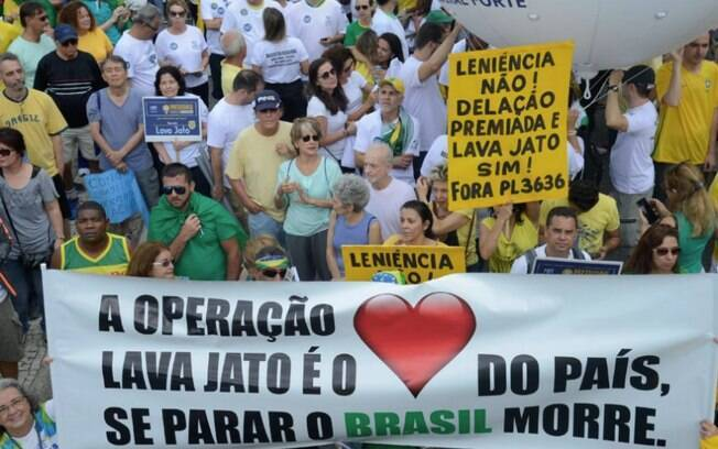 No Rio de Janeiro, protestos aconteceram entre os postos 4 e 5 da praia de Copacabana