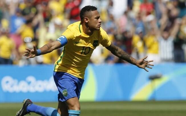 Neymar marca dois gols na vitória sobre Honduras